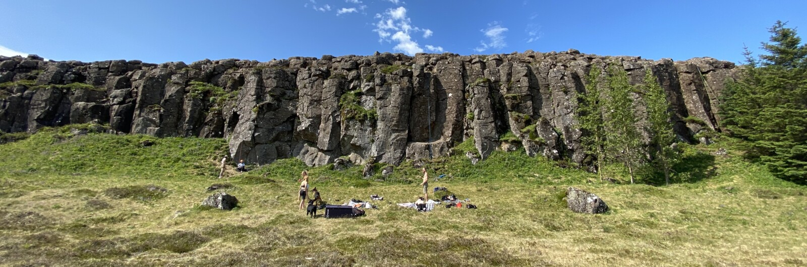 sport climbing, cliffs and sun bathing