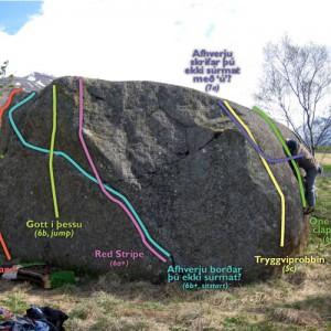 Grjótglíma við Munkaþverá