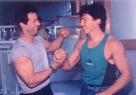 Güllich og Stallone